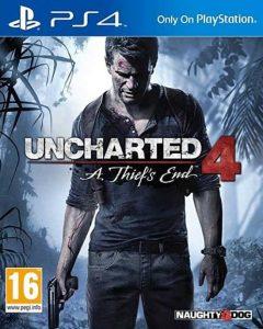 Uncharted 4 एक चोर का अंत (PS4) - पुराना संस्करण