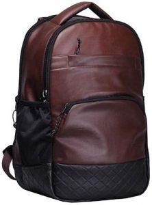 F Gear Luxur Brown 25 litre Laptop Backpack