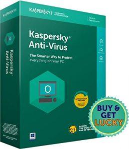 कैसपर्सकी एंटी-वायरस नवीनतम संस्करण - 1 उपकरण, 1 वर्ष (सीडी)