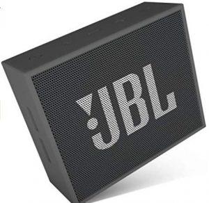 जेबीएल गो पोर्टेबल वायरलेस ब्लूटूथ स्पीकर विथ माइक (ब्लैक)