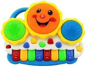 साहिबू ड्रम कीबोर्ड म्यूजिकल टॉयज